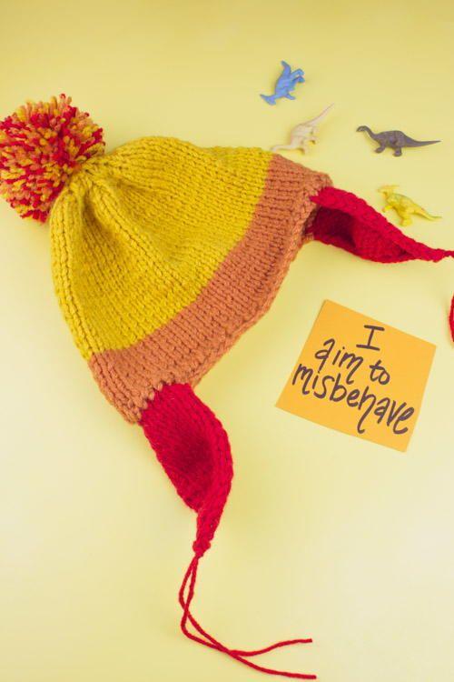 Flat Knit Jayne Cobb Hat Jayne Cobb Free Pattern And Geek Crafts