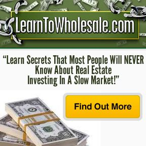 Learn Secrets That Most People will NEVER know about Real Estate Investing in a slow Market!