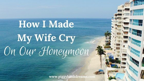 """Today's guest post is as real as it gets. James MacLean from Love and Money Mattersopens up about the first moment he and his new bride had """"the money talk."""" It wasn't exactly when he thought it would happen (on their honeymoon!), but it taught them both some powerful lessons. True story. I made my […]"""
