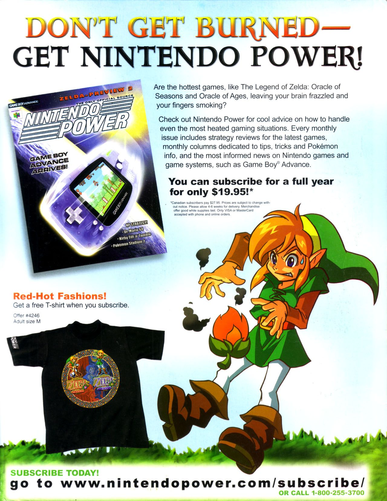Gameboy color ad - Zelda Oracles Gbc Nintendo Power Ad Nintendo Player S Guide Gaming Ads