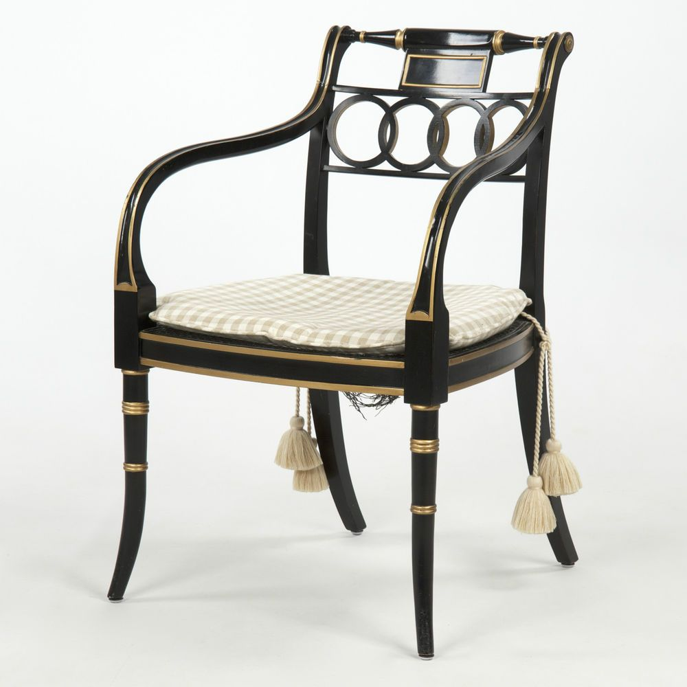 Alstons Manhattan Bedroom Furniture Baker Furniture Governor Alston Regency Style Chair Charleston