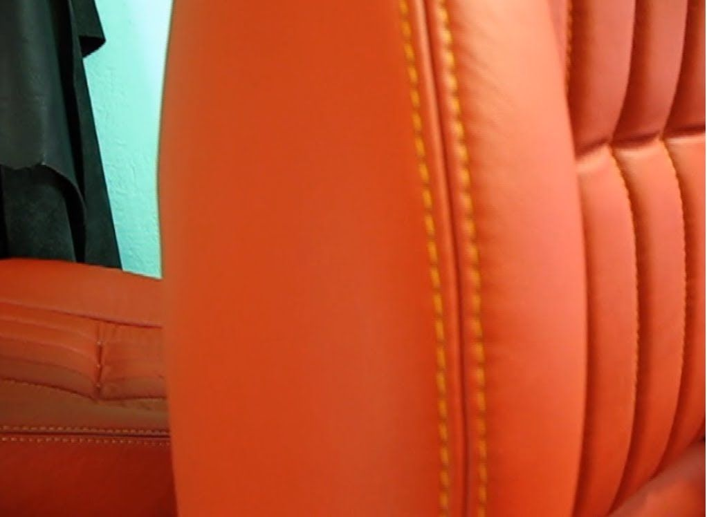 how to repair leather couch seam