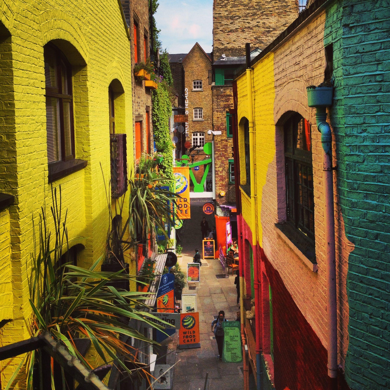 Neals Yard, Covent Garden | Window to the Walls | Pinterest