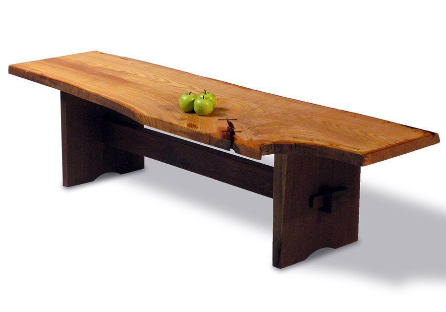 Slab Coffee Table Part - 17: Oleski Coffee Table | Slab Wood Table | David Stine Woodworking  [stinewoodworking.com]