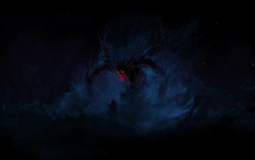 Scary Dream Evil Monster Cartoon Wallpaper Hd Fantasy Demon