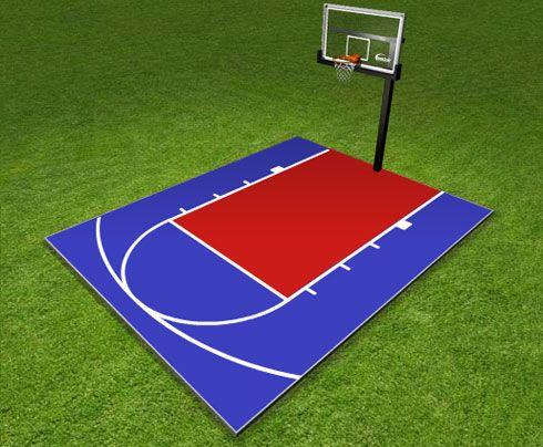 Dunkstar Diy Home Game Courts Monthly Specials Backyard