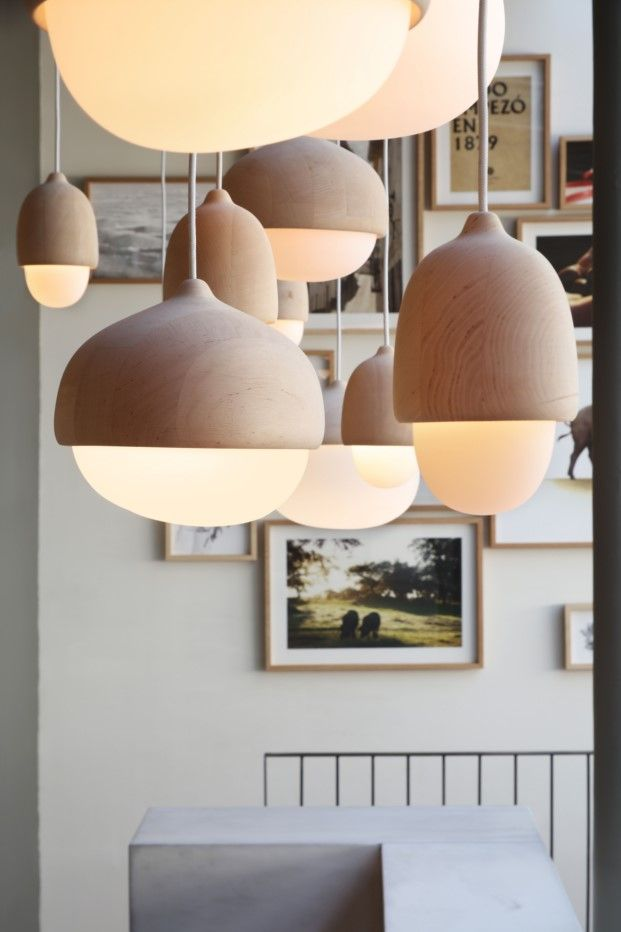Bellota lamps | 5jotas restaurant | Madrid by Tarruella-trenchs