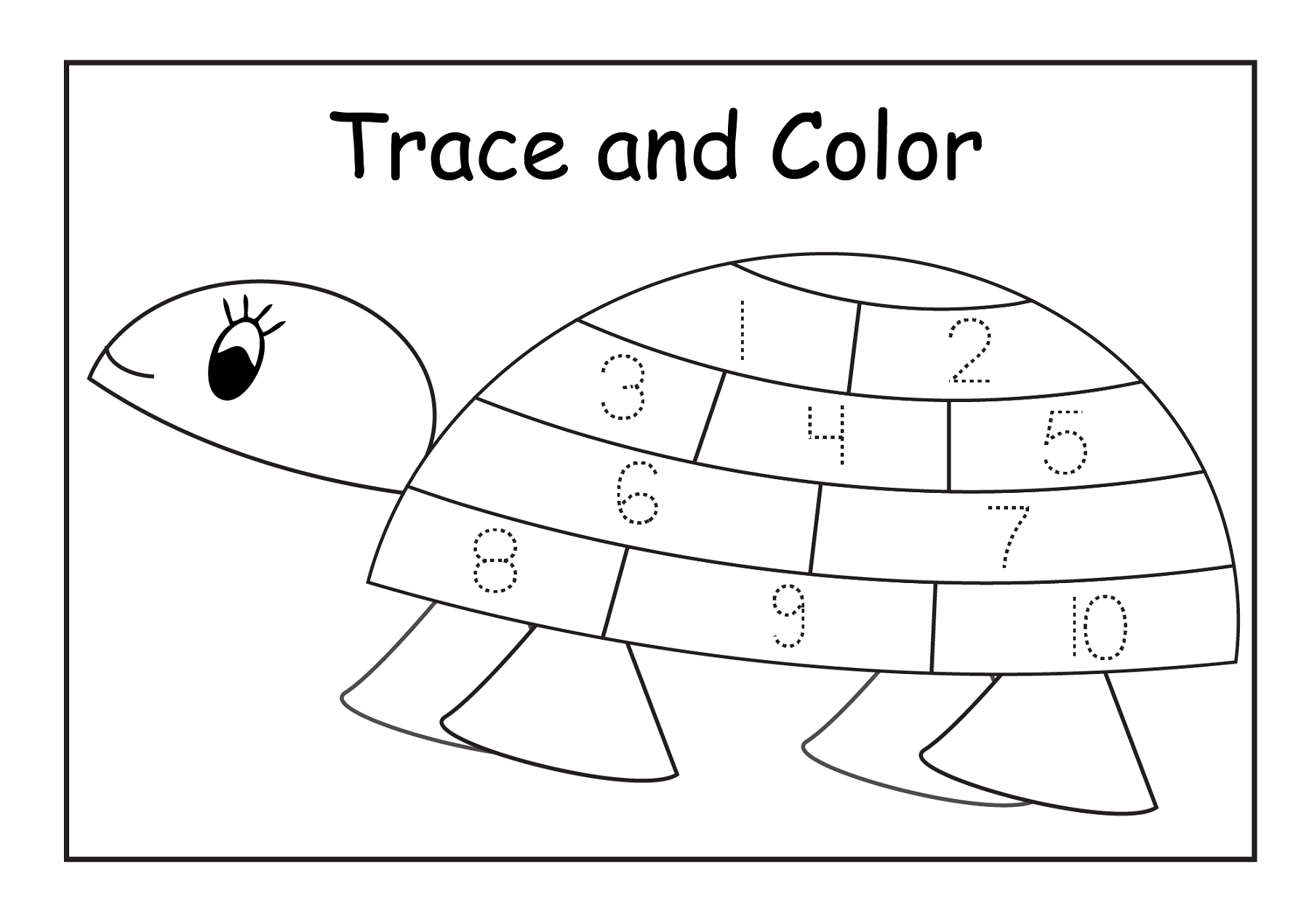 Tracing Sheets For Preschoolers Kids Learning Activity
