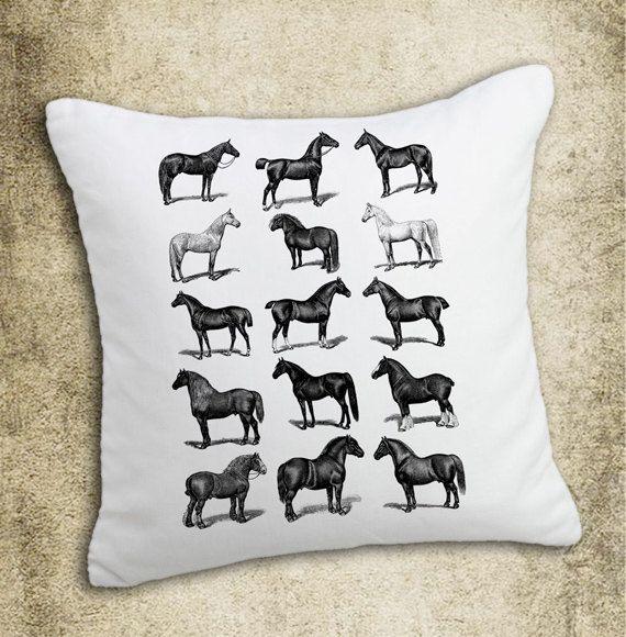 INSTANT DOWNLOAD Horses Vintage Illustration Download by room29