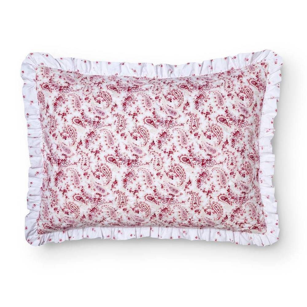 NWOT Simply Shabby Chic Country Paisley Sham Pink #ShabbyChic #Country
