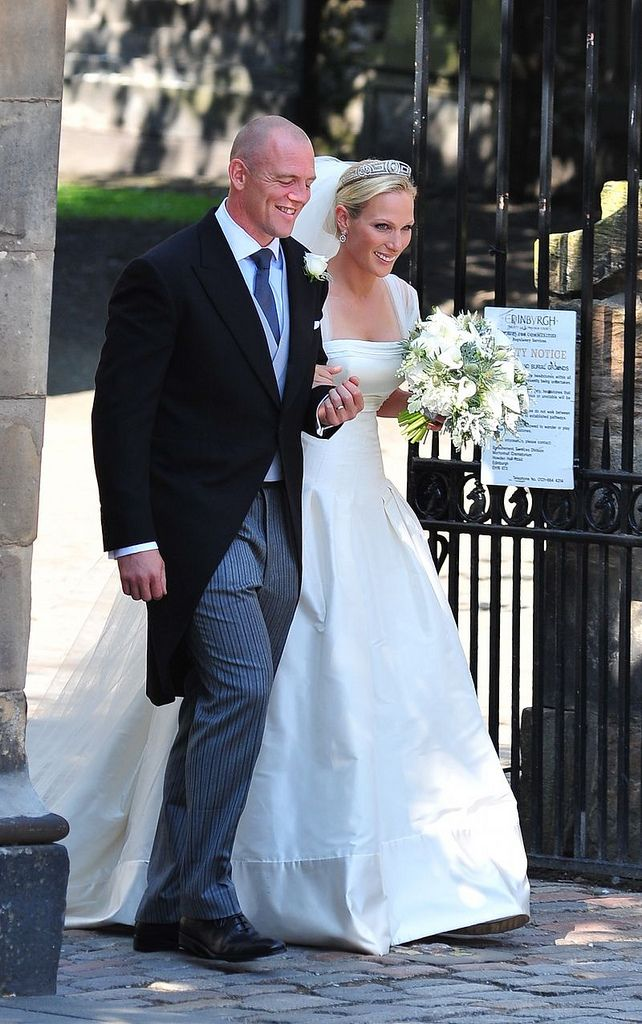 3b393202 Wedding of Zara Phillips and Mike Tindall in 2019 | Zara Phillips ...
