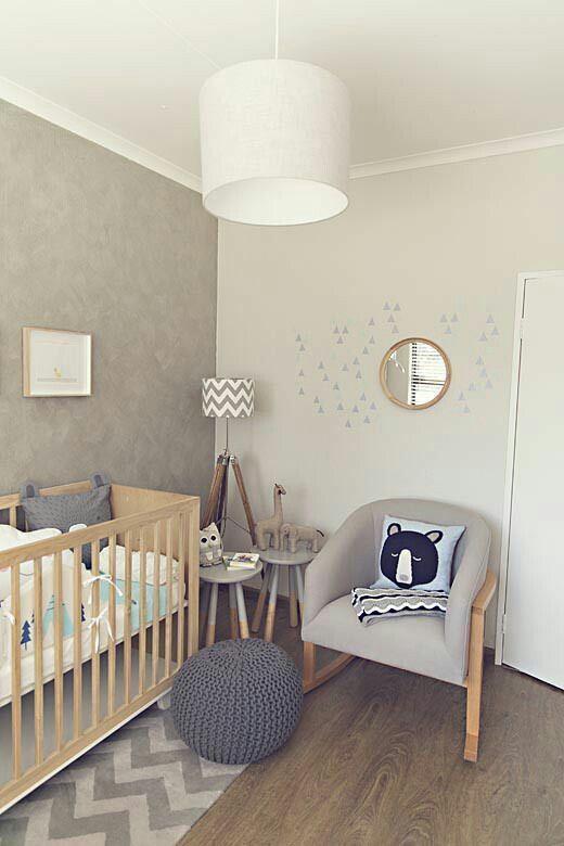Une Chambre De Bebe Apaisante Declinee Dans Des Tons Neutres