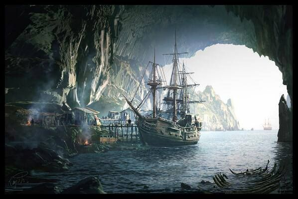 Man Caves Pirate Episode : Pirates cave set sail pinterest ships and
