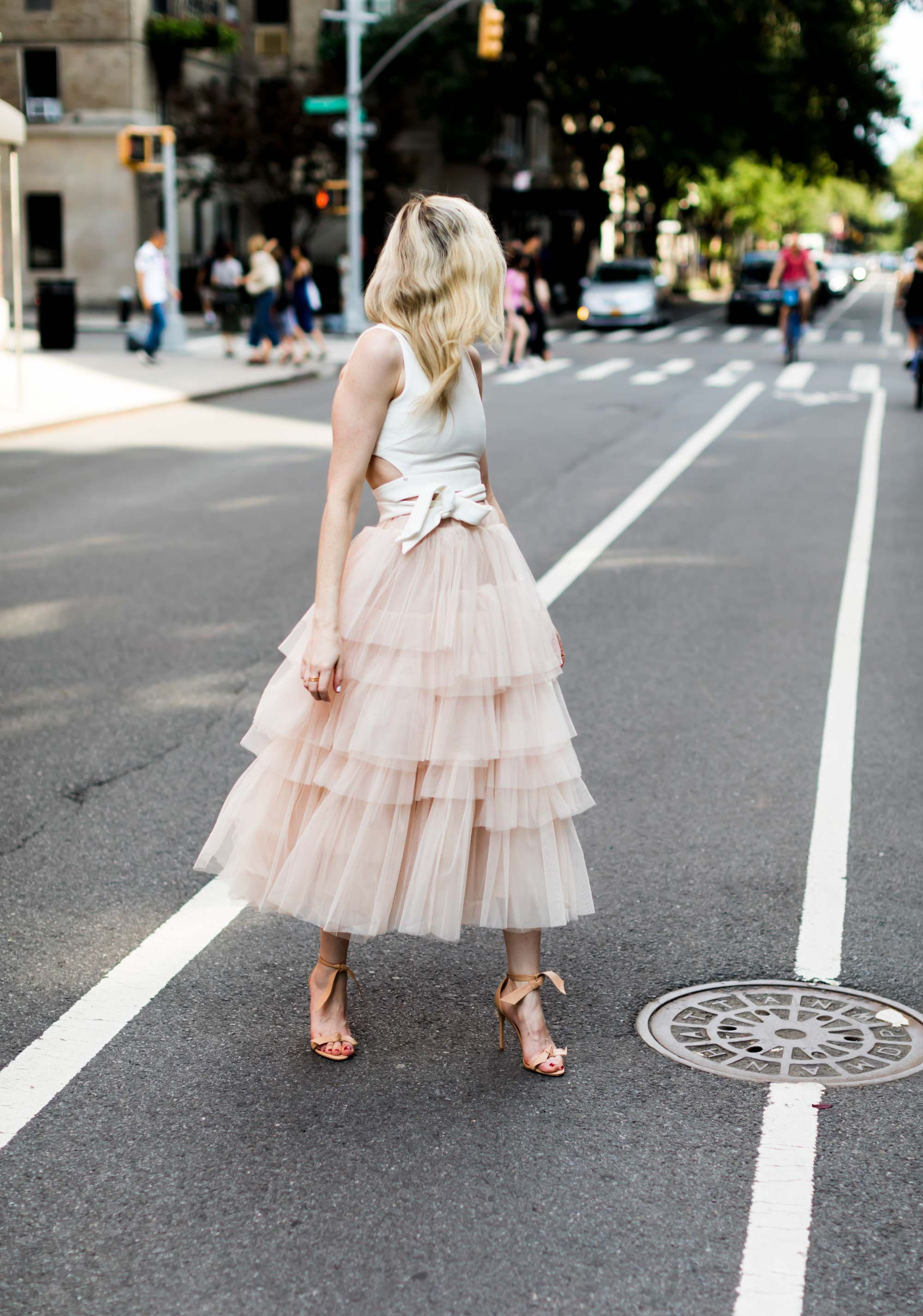 3123e8e3b Layered tulle skirt | Street style | Fashion, Tulle, Dresses