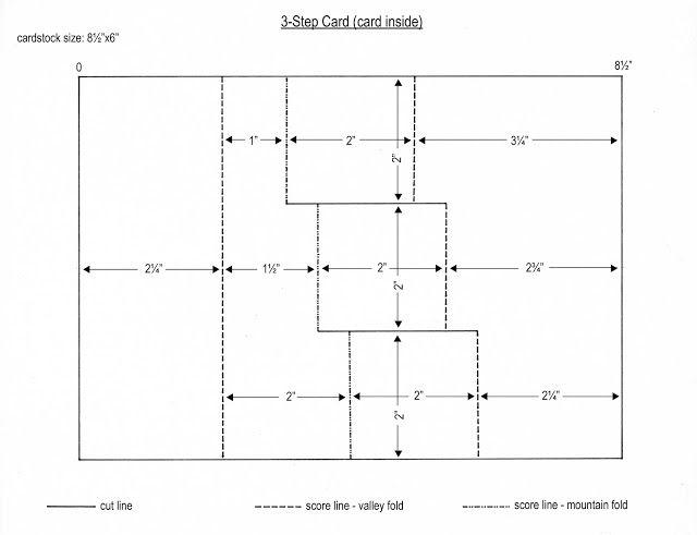3 Step Card Tutorial 4 1 4 X 6 Card Step Cards Card Tutorial Fancy Fold Cards