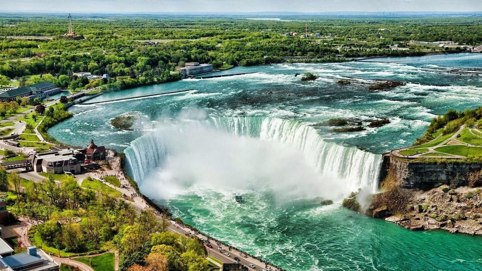The Beautiful Of Niagara Waterfalls Waterfall Wallpaper Waterfall Niagara Waterfall