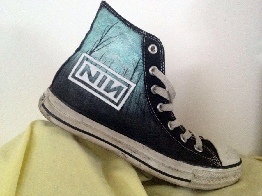 Custom Nine Inch Nails (NIN) music theme art work on