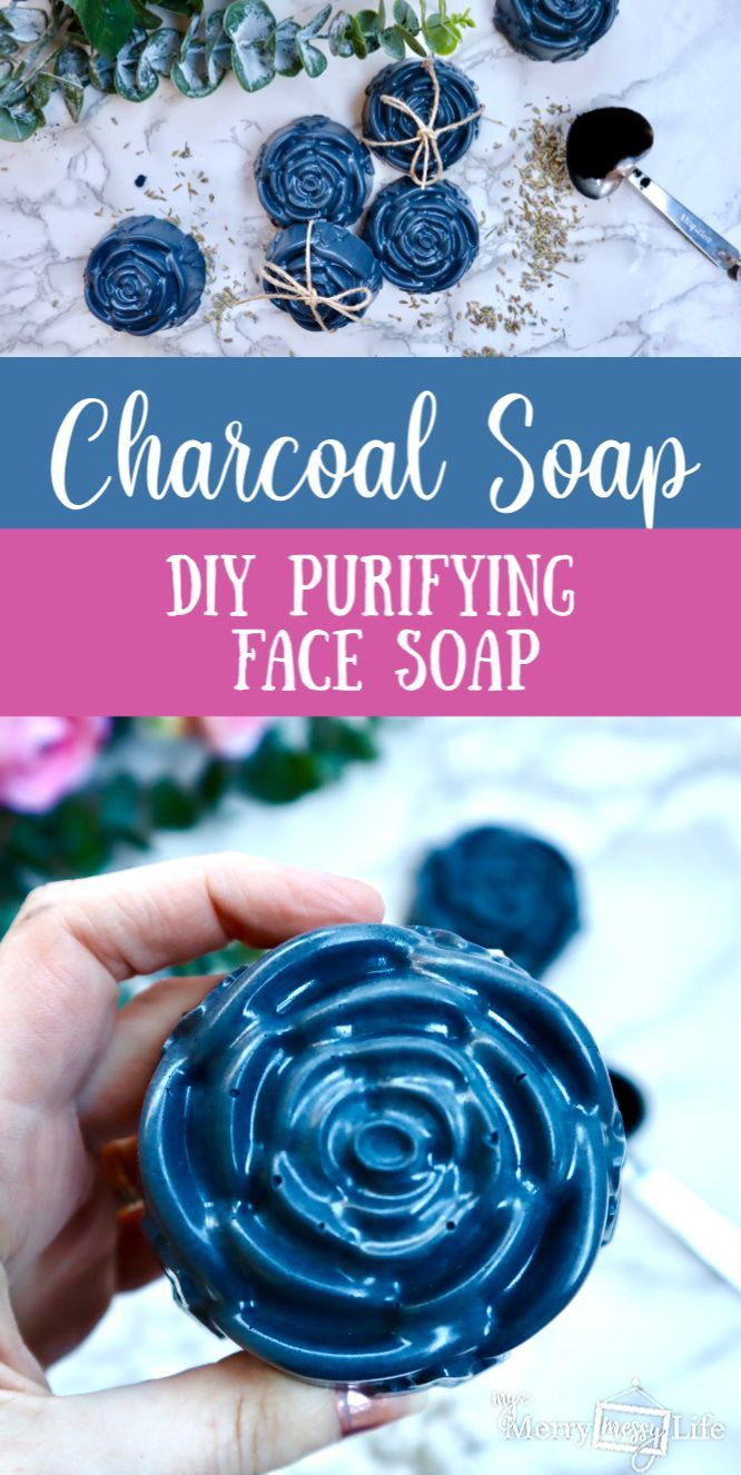 Natural Charcoal Face Soap Recipe (With images