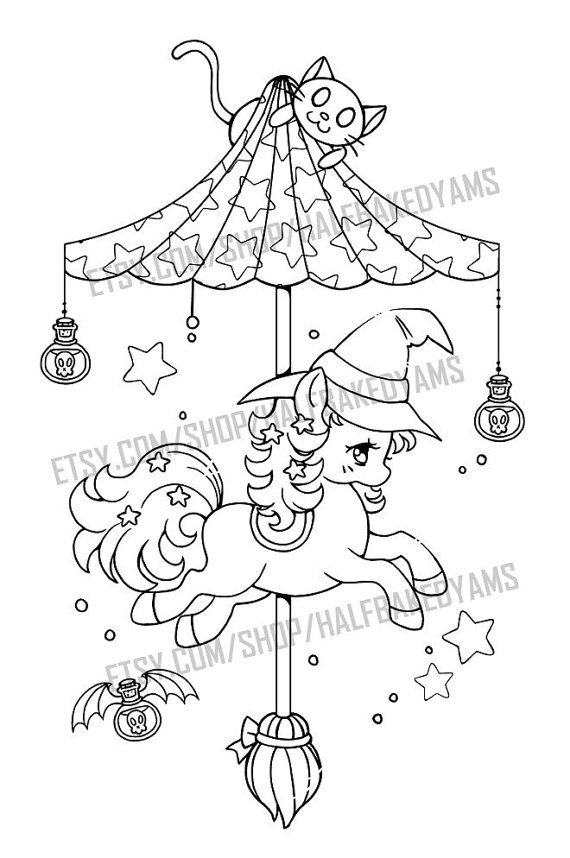 fin hopp pony coloring pages - photo#14
