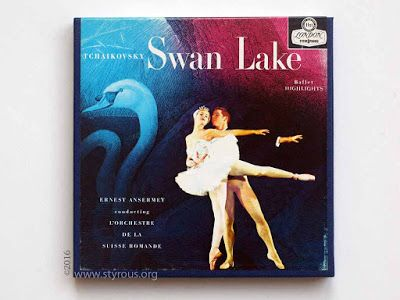 The Styrous® Viewfinder: 101 Reel-to-Reel Tapes 118: Tchaikovsky ~ Swan Lake