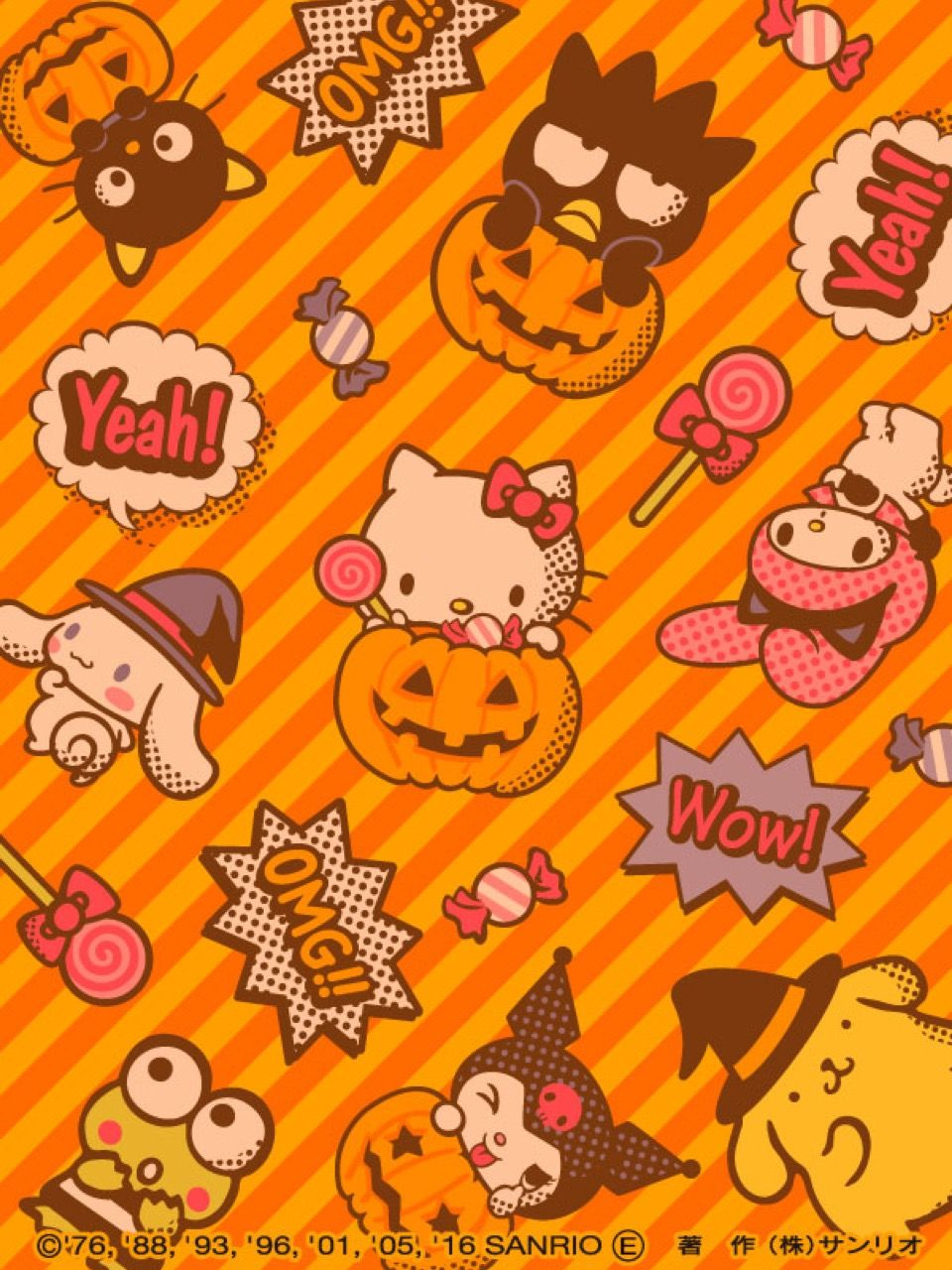 From Hello Kitty Collage With Images Hello Kitty Halloween Wallpaper Hello Kitty Backgrounds Hello Kitty Pictures
