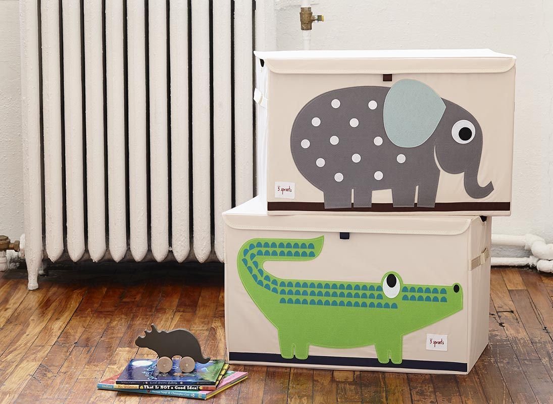 best  sprouts images on pinterest   sprouts baby room and  -  sprouts elephant  crocodile toy chest