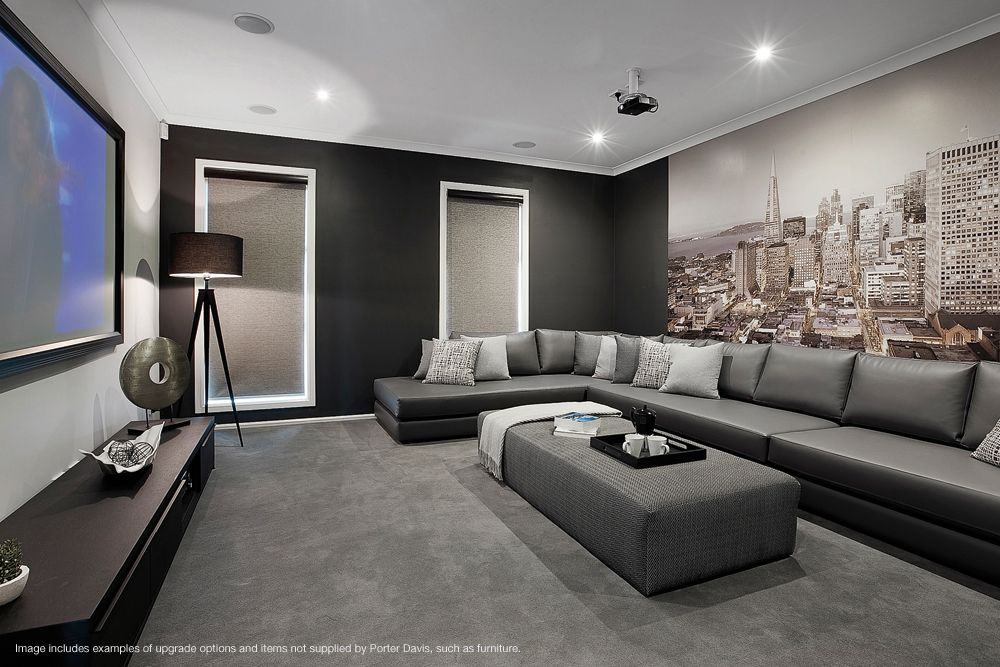 London Home Cinema Room Living Room Theaters Home Theater Rooms