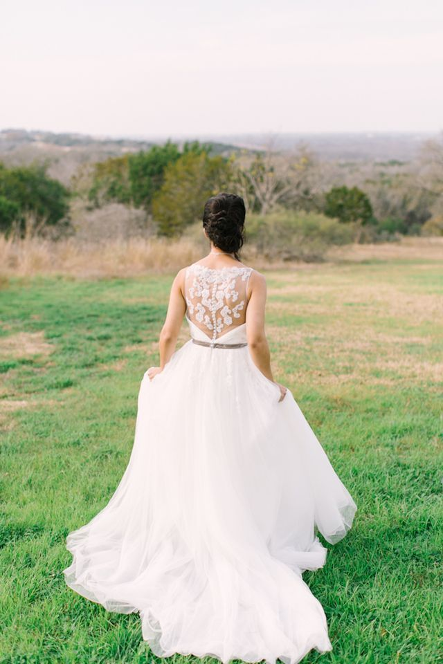 Wedding Dress With A Lace Back Mint Photography See More On Burnettsboards Co