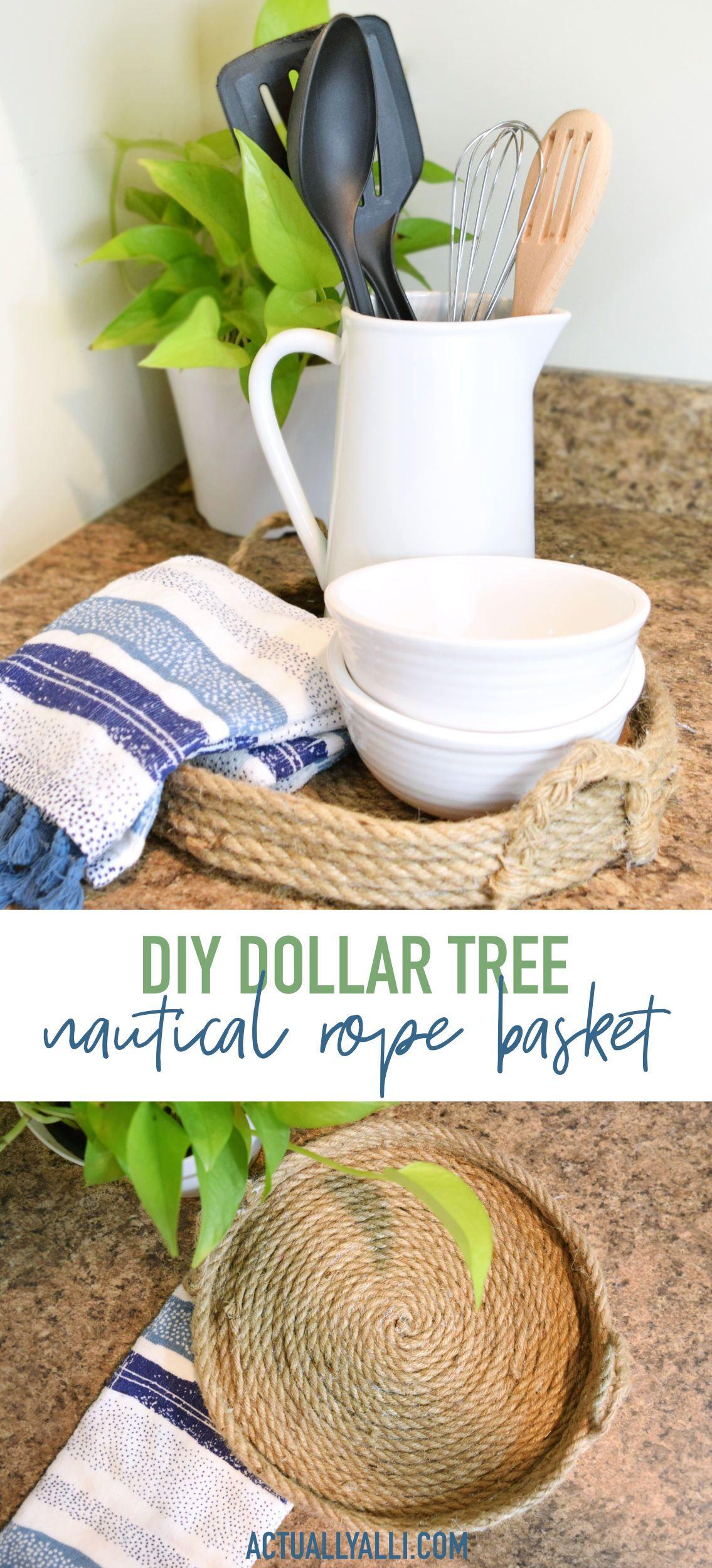 Diy farmhouseinspired dollar tree decor actually alli
