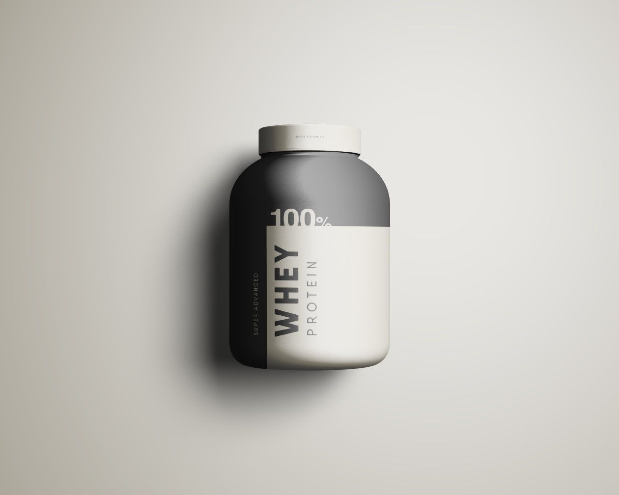 Free Whey Protein Jar Mockup Psd 85 1 Mb Graphic Pear Free Photoshop Protein Bottle Cosmetic Packaging Design Whey Protein