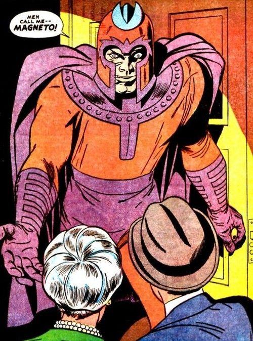 Men Call Me...MAGNETO! Recognize. | Marvel retro, Comic book heroes, Comics