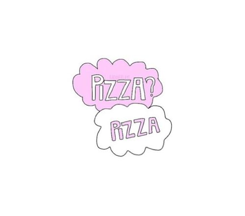Cute Food Quotes Tumblr: Pizza Background