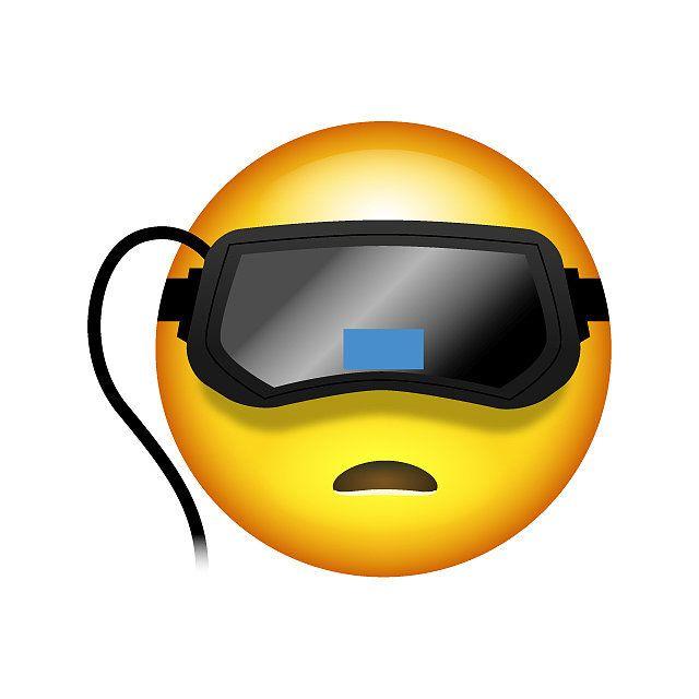 Robot Emoji Gamer Helmet
