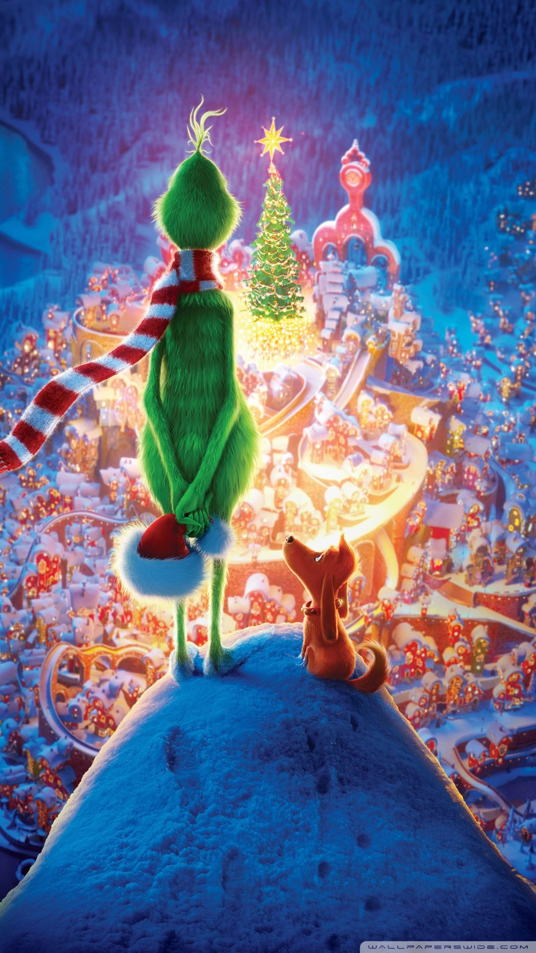 Vintage The Grinch Wallpaper Iphone in 2020 Wallpaper