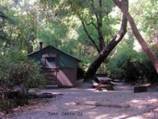 BIG BASIN TENT CABINS. CA (25mi NE Santa Cruz) & BIG BASIN TENT CABINS. CA (25mi NE Santa Cruz) | Camping ...