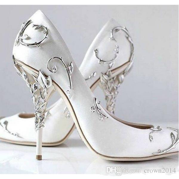Evening Women High Heels Sequin Stiletto Party Dress Wedding Pumps Cocktail Shoe