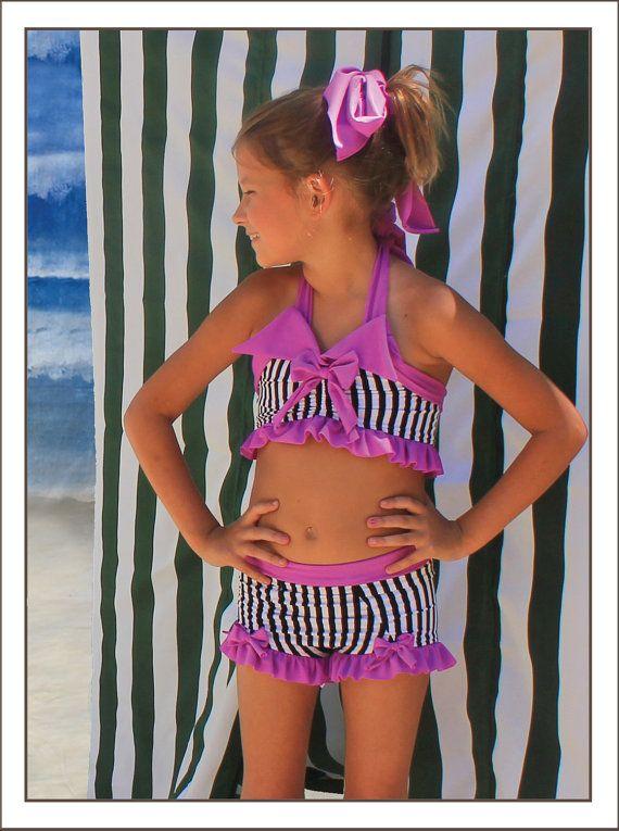 Bathing Beauty Bikini by muddyfeetboutique on Etsy, $64.00