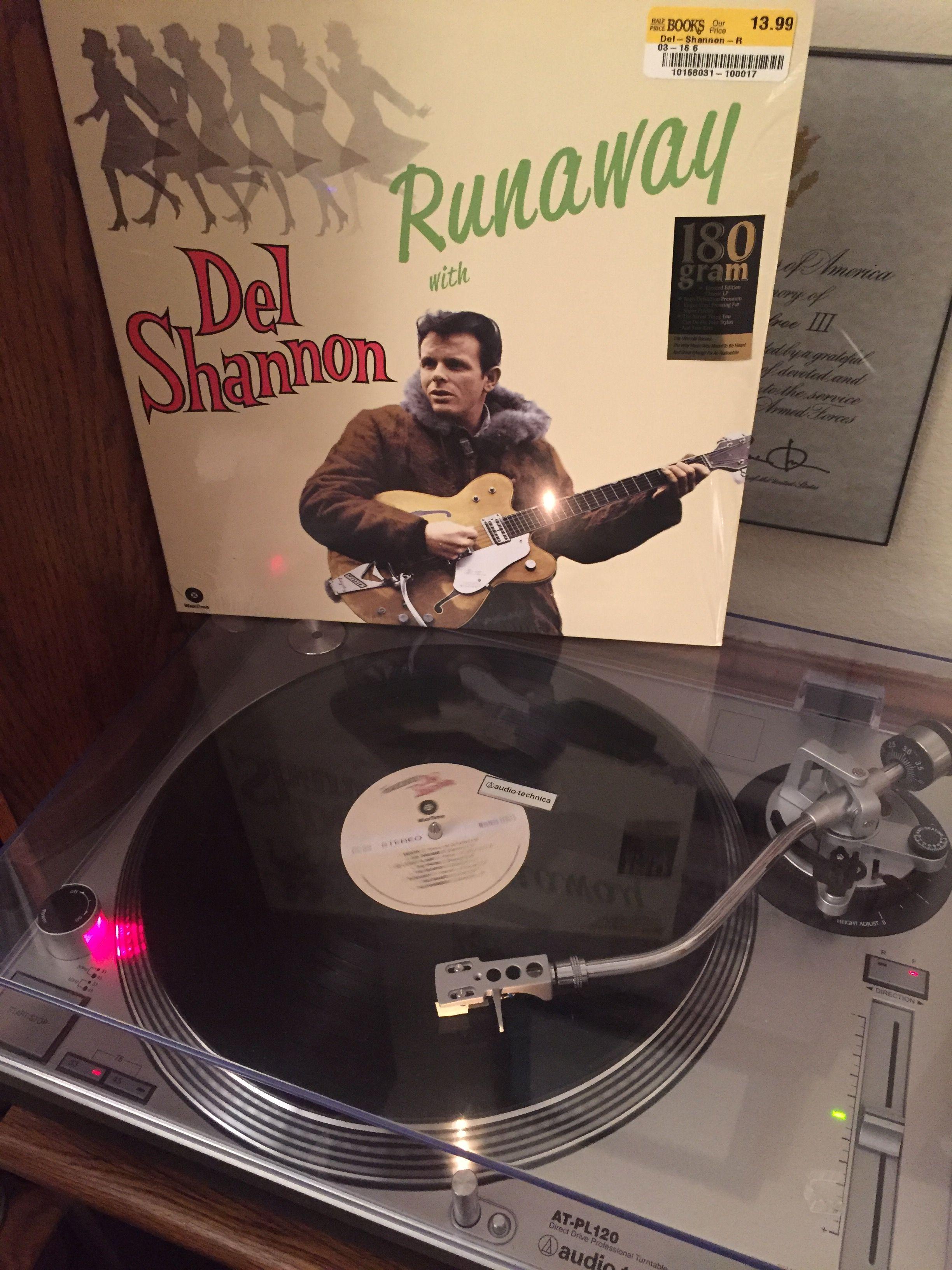 Del Shannon Runaway 1961 Waxtime 772106 Reissued 2015 180g Vinyl Del Shannon Runaway Del Shannon Music Record