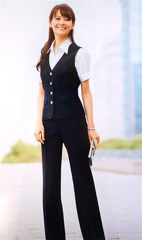 17 Best images about Uniforms on Pinterest | Waiting staff, Office ...
