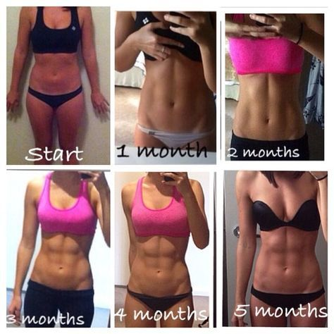 how abs are built  it'not s just not eating right but