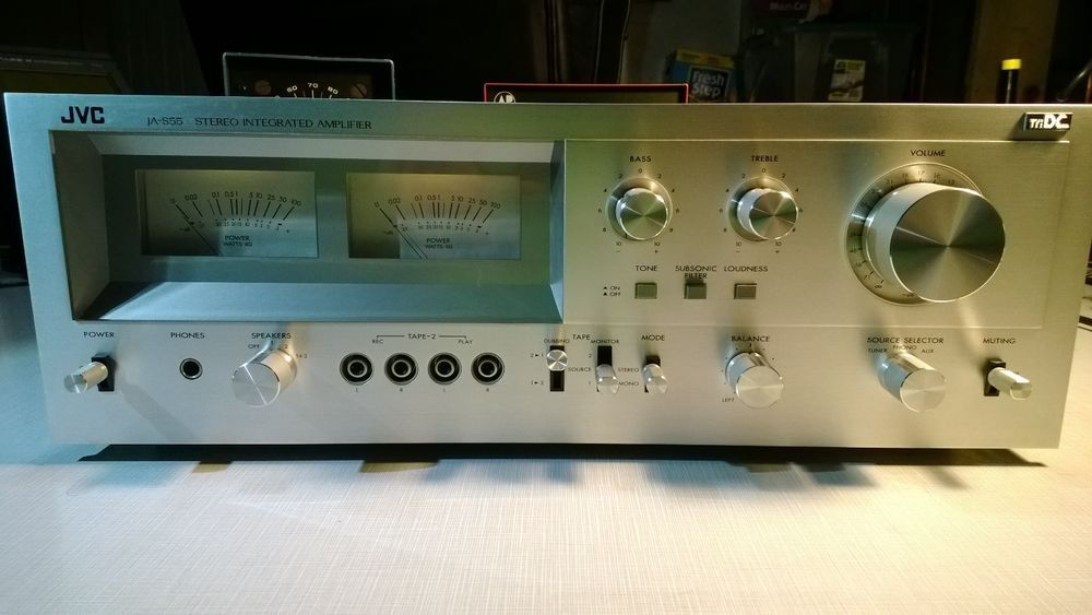 JVC JAS55 Stereo Integrated Amplifier Very Clean and