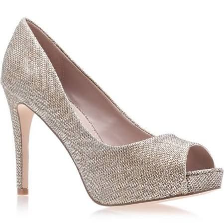111e1928118 Carvela Gold  lara  High Heel Court Shoes - 3. Carvela Lara peep toe ...