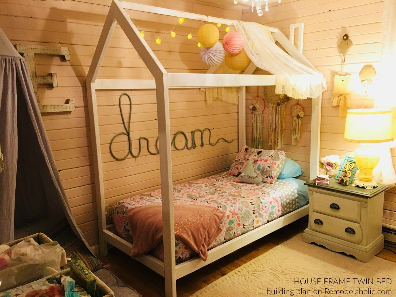 Diy House Frame Bed By Reader Alisha Building Plans