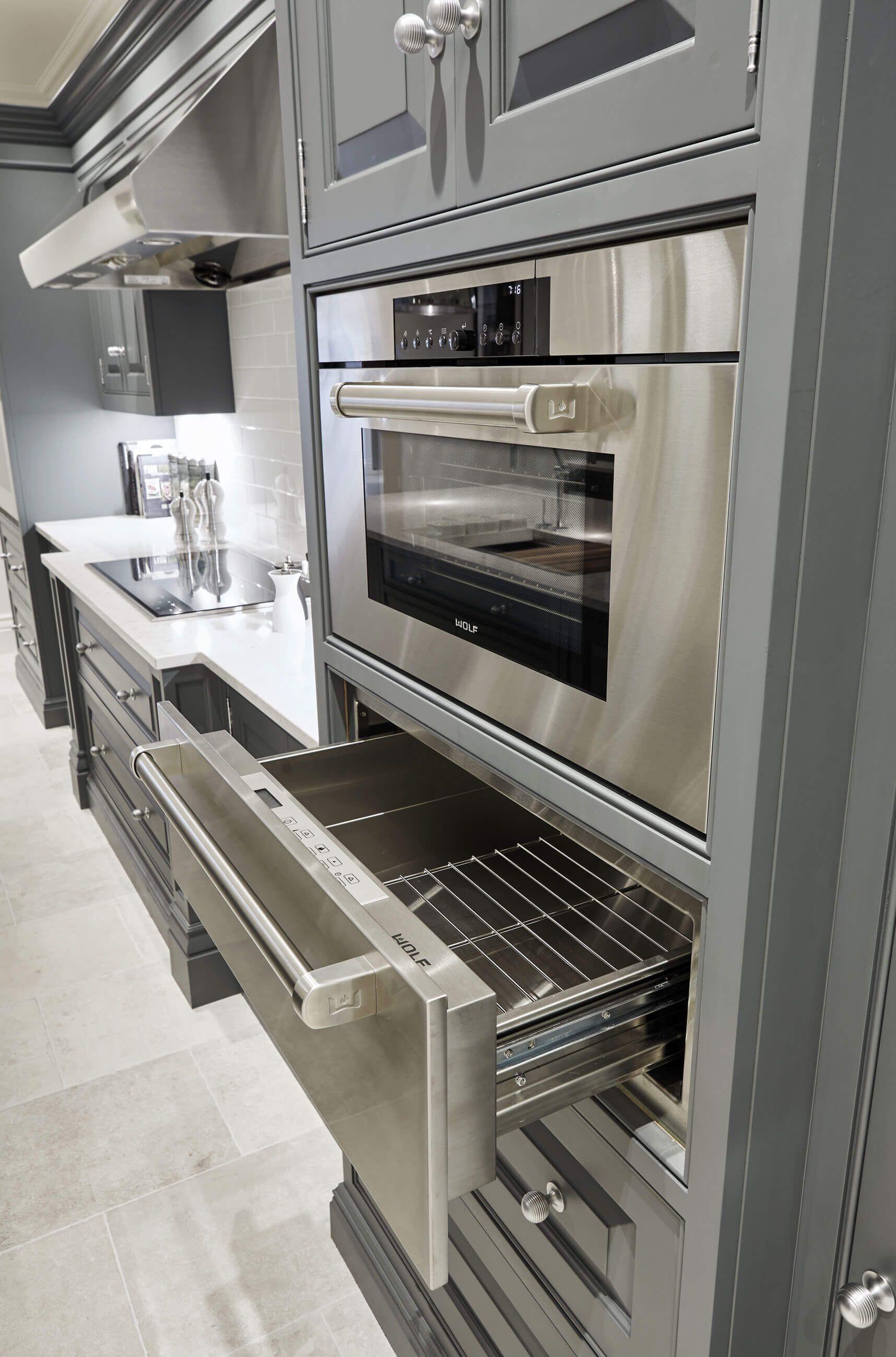 Best Luxury Grey Kitchen In 2020 Grey Painted Kitchen 400 x 300