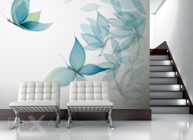 Schmetterlingsflügel Fototapete fürs Wohnzimmer Pinterest