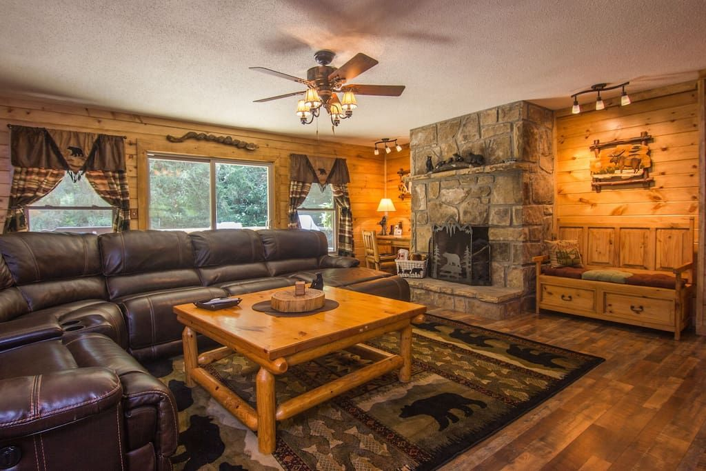 Creek Retreat Cabin Nfl Sunday Home Decor