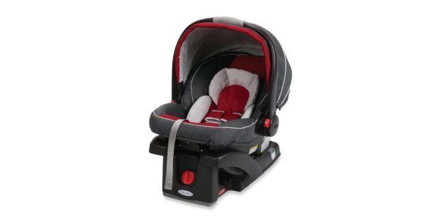 GracoR SnugRide Classic ConnectTM 35 Infant Car Seat In Chili RedTM