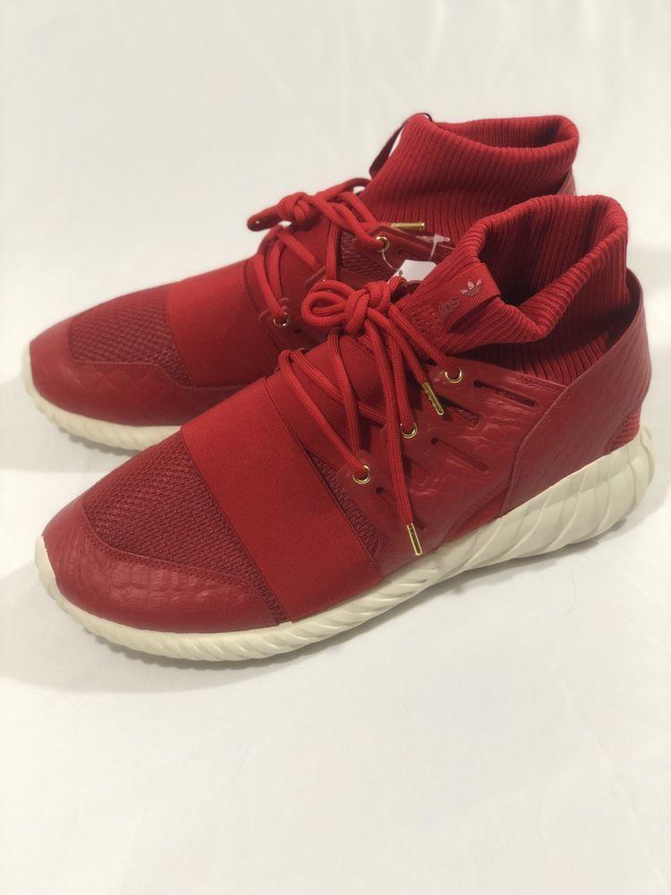 e89a943e233883 ADIDAS TUBULAR DOOM USED SIZE 13 CNY CHINESE NEW YEAR POWER RED AQ2550   fashion
