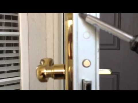 Stormdoorguy Com How To Disassemble A Storm Door Handle Door Handles Storm Door Handle Storm Door