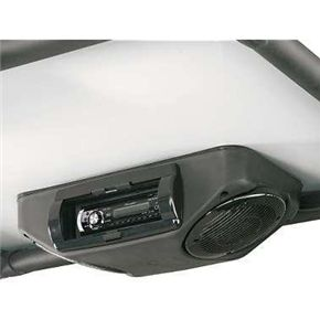 Honda Big Red Overhead Roof Mount Pioneer Stereo Kit Stereo Console Stereo Utv Accessories